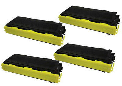 4PK TN-350 Black Compatible Toner for TN350 DCP-7010, DCP-7020, DCP-7025 Brother