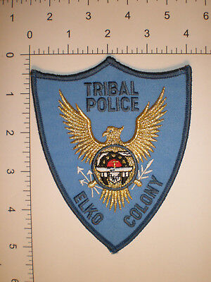 NV Nevada ELKO COLONY Indian tribe Native American Tribal Police patch