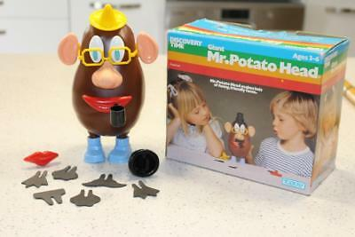 Vintage Giant MR POTATO HEAD in box Toltoys COMPLETE