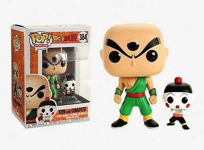 Funko Pop Animation: Dragon Ball Z - Tien and Chiaotzu Vinyl Figure Item #32254