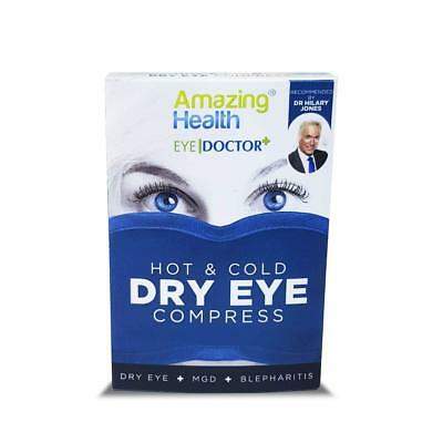 Amazing Health The Body Doctor Hot Eye Mask Compress Heat Bag for Dry Eye