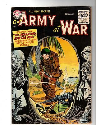 Our Army At War #37 Vg+ (1955)