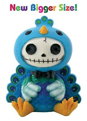 Furrybones Figurine -   Peacock Dandy  --- New Larger Size