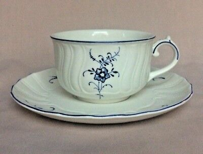 """Villeroy & Boch """"Vieux (Old) Luxembourg"""" CUP & SAUCER"""