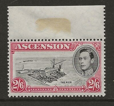 ASCENSION  SG 45  1938 GVI 2/6d PERF 13 1/2  UNMOUNTED MINT