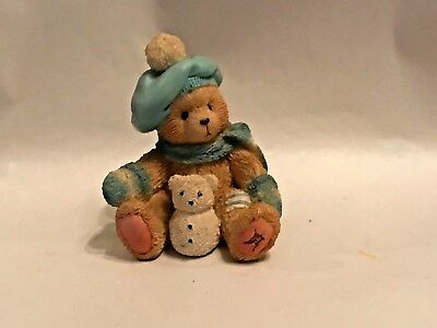 """Enesco CHERISHED TEDDIES  """"JACK """" JANUARY """"A NEW YEAR WITH OLD FRIENDS"""" 914754"""