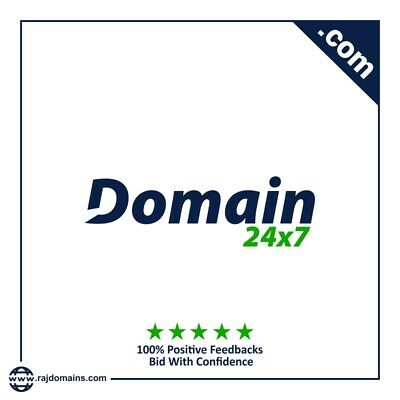 Domain24x7.com Premium memorable brandable domain name for domain registration