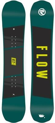 Flow Micron Chill Youth Positive Camber Snowboard, 140cm 2018