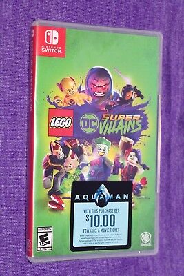 Nintendo Switch Lego Dc Super Villains Video Game Sealed Ships Same Day