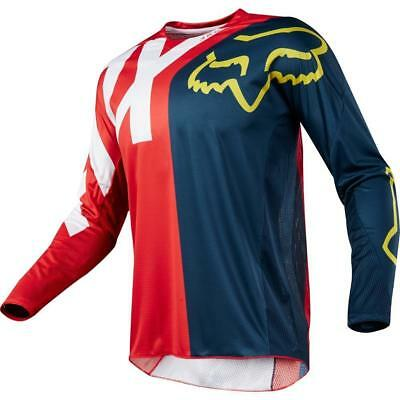 2018 YOUTH motocross FOX 360 PREME  jersey LARGE nvy/red 19440-248-L