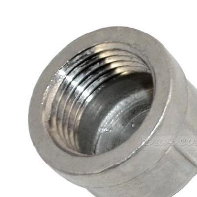 "1/2"" Cap Female Stainless Steel SS SUS 304 Threaded Pipe Fitting NPT"