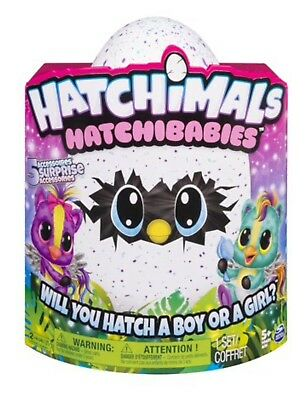 Hatchimals HatchiBabies Cheetree Ponette Hatching Egg with Interactive Pet Baby