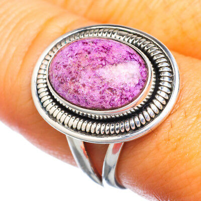 Sugilite 925 Sterling Silver Ring Size 8 Ana Co Jewelry R915825F