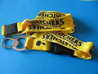 New THATCHERS Cider Lanyard With Bottle Opener Attached