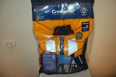 Gilet  Sauvetage Crewsaver Lifeboats 100N Life Jacket Supersafe Large Child Neuf