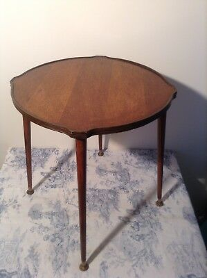 Vintage French Mid Century Style Occasional Side Table - Wine, Drinks (3095)