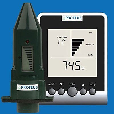 Wireless Ultrasonic Level Gauge plus Monitor for Underground Water Cisterns