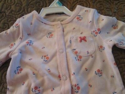 NWT Infant Girls CARTERS Pink Great Looking  NEW One Piece Outfit size 6 months