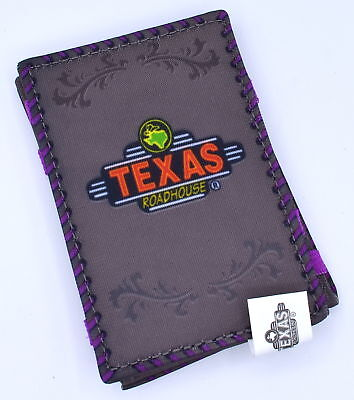 Lot of 4x Texas Roadhouse Clem Magic gift card wallet
