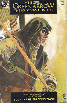 GREEN ARROW The Longbow Hunters  Book 3 - Oct 87  Mike Grell
