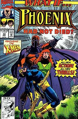 1991 Marvel Comics What If Phoenix Had Not Died? #32
