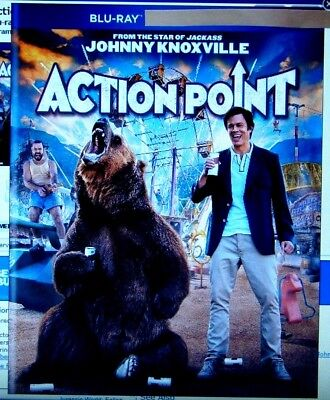 """Action Point  """" Blu-Ray Movie Disc, Blu-ray Case, Artwork & Slipcover"""
