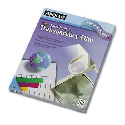 Apollo® Color Laser Transparency Film, Letter, Clear, 50/Box 718575093180
