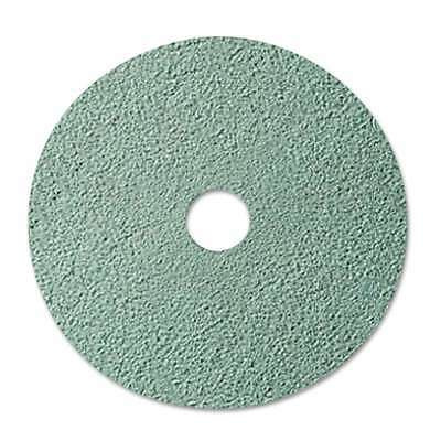 "3M Burnish Floor Pad 3100, 20"" Diameter, Aqua, 5/Carton 048011087535"