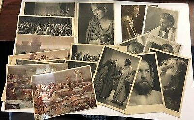 VINTAGE BIBLICAL POSTCARD Photo LOT ORIGINAL & RARE Unmarked IMPORTS