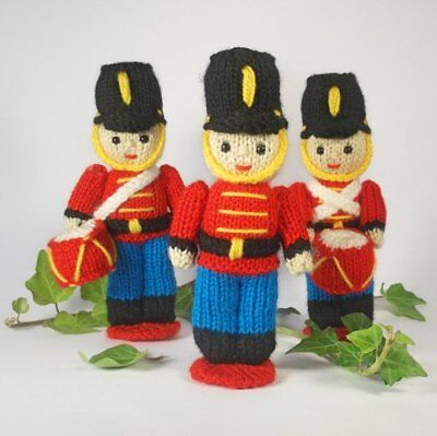 Toy Soldier, Christmas decoration, knitting pattern