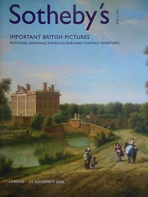 Important British Pictures - 2005 - Sotheby Auction Catalogue - Paintings, Art