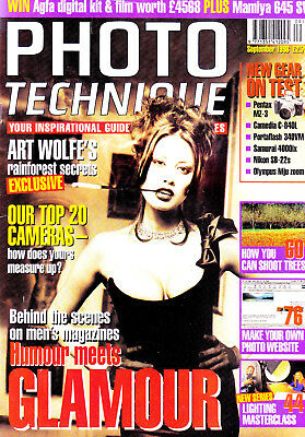Photo Technique magazine with  Pentax MZ-3 & 40mm F1.9 tested    September  1998