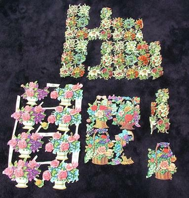 Victorian Antique Die Cut Scraps For Scrap Album - Lot 5