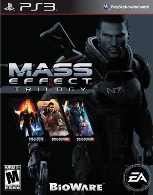 Mass Effect Trilogy - Playstation 3 Game