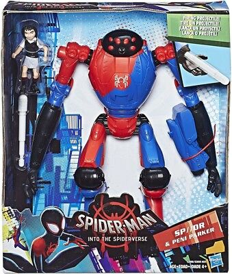 Spider-Man Into the Spider-Verse SP//DR & Peni Parker Deluxe Figure