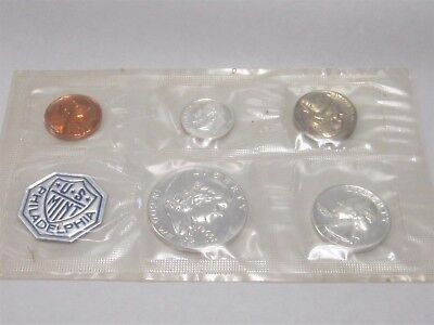 1963 U.S. Proof Set Silver In Original Package & Envelope Free US Shipping