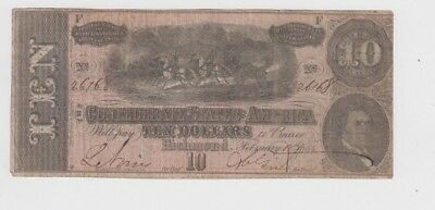 Confederate Currency Civil War era item  lower grade