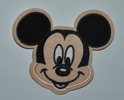 Patch Mickey   Écusson Brodé   Thermocollant Coutures