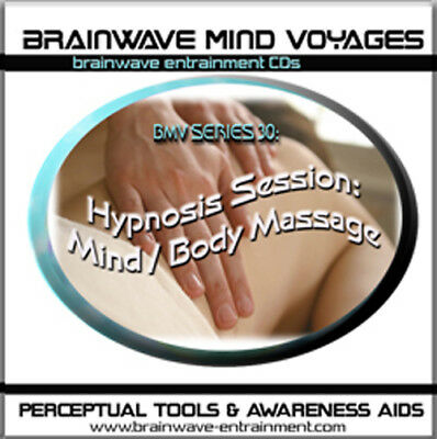 HYPNOSIS CD-BODY/MIND MASSAGE THERAPY THERAPIST SESSION w/ BRAINWAVE TECHNOLOGY