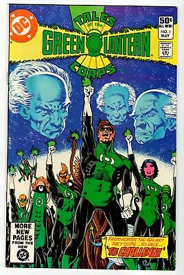 TALES OF THE GREEN LANTERN CORPS #1 - VF/NM 1981 Vintage DC Comic