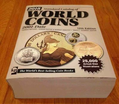 2018 Standard Catalog World Coins 2001-Date 12 Ed. Krause Paperback Barely Used!