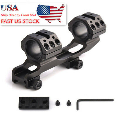 US Stock 30mm Ring Adapters Cantilever Rifle Quick Release Scope Mount F Hunting