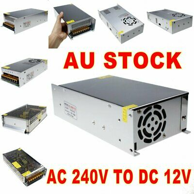 AC 240V TO DC 12V 10A 20A 30A Transformer LED Switch Power Supply For LED Strip