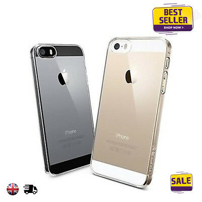 Transparent Crystal Clear Case Gel TPU Soft Gel Cover Skin Case  For iPhone 5s