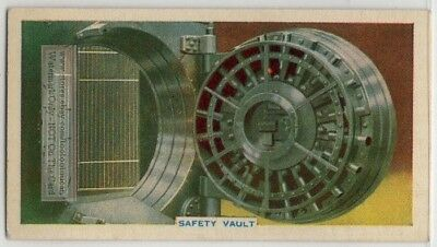 John Tann Safe Vault Insurrection Protector 80+ Y/O Trade Ad Card