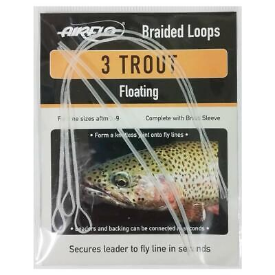 Airflo Trout Braided Loops Floating X3 - Trout Fly Fishing