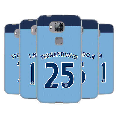 Manchester City Man City Fc Home Kit 2016/17 2 Gel Case For Huawei Phones 2