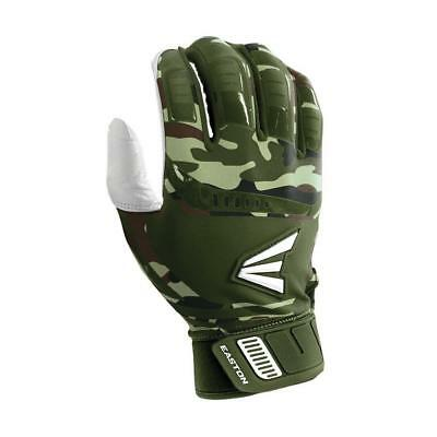 Easton Walk Off Adult Large Army Camo Baseball/Softball Batting Gloves Pair