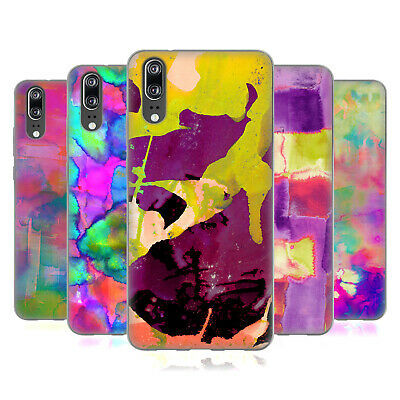 Official Amy Sia Abstract Colours Gel Case For Huawei Phones