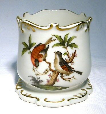 Herend Rothschild Bird Vase / Pot